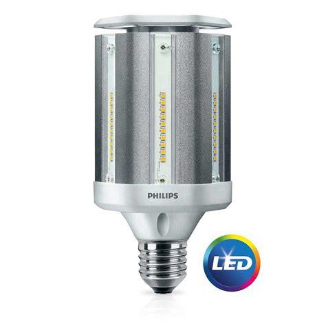 led post light bulb philips 100w equivalent daylight ed28 hid post top led