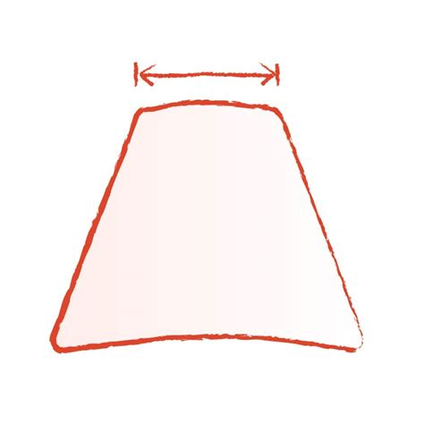 how to measure a l shade how to measure for a l shade home lighting ideas