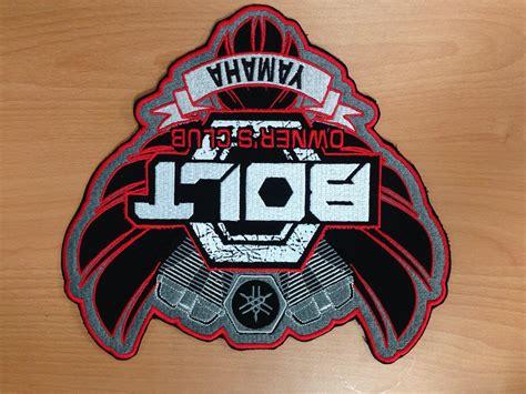 yamaha bolt xl patch emblem revo cycle