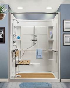 Walk In Shower With Designed For Seniors Hydrotherapy