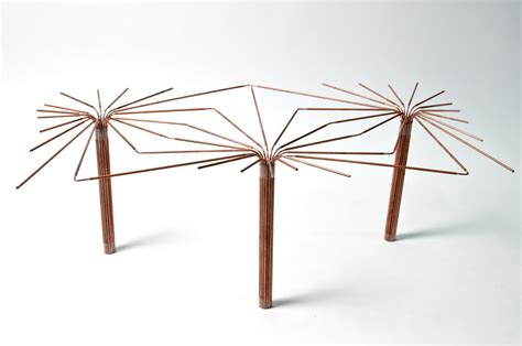 mobilier bureau maroc projet étudiant table canopée par julie martin esad reims