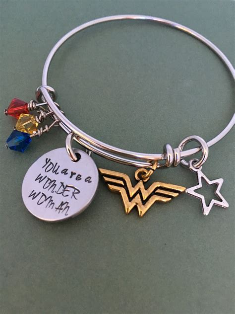 Wonder Woman You Are A Wonder Woman Bracelet Great For. Gold Lockets. Mens Anklet. Peach Pearls. Rose Gold Mens Wedding Band