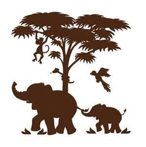 Jungle Animal Silhouette