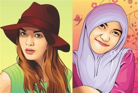 Make Your Photo into Amazing Vector Cartoon for £5 : anwar16 - fivesquid