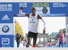 Berlin Marathon 2018 Eliud Kipchoge breaks world record