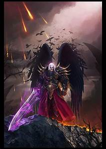 Fantasy, Art, Dark, Angel