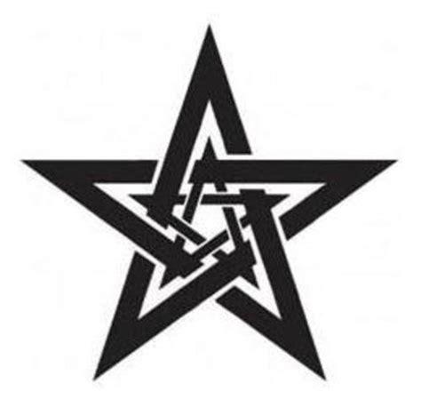 Latest Dark Black Tribal Star Tattoo Design  Ideas De