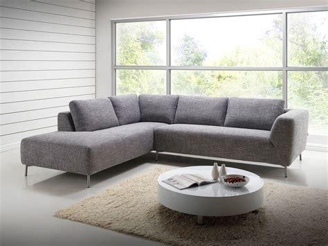 canapé d angle tissus salon canapé d 39 angle design avec méridienne en tissu gris