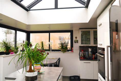 extension cuisine sur jardin une véranda pour agrandir sa cuisine md concept