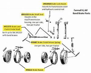 Farmall H Brake Bands