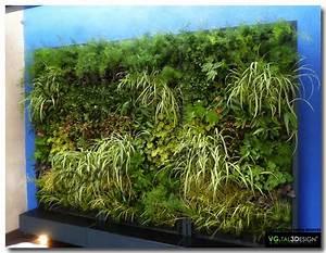 Mur Végétal Extérieur : mur v g tal ext rieur vgtal3design mur v g tal d ~ Premium-room.com Idées de Décoration