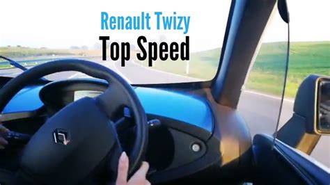 renault twizy top speed renault twizy top speed youtube