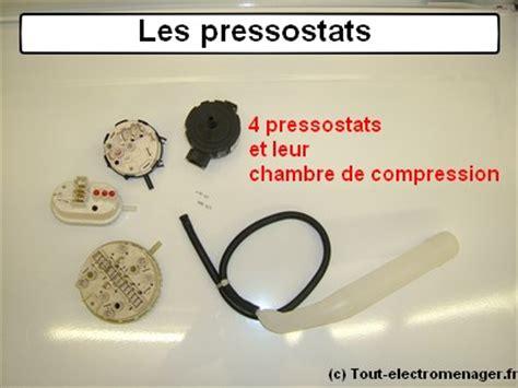 chambre de compression lave linge tout electromenager fr pièces détachées pressostat