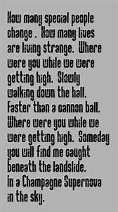 Oasis - Champagne Supernova - song lyrics,music lyrics ...