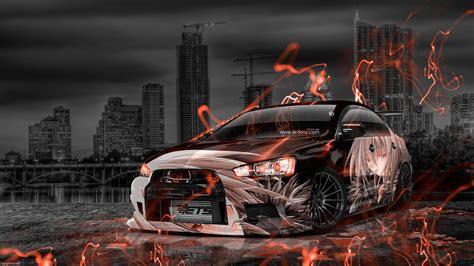 Anime Car Wallpaper - wallpaper anime car graphic fond ecran hd