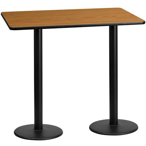 30 round counter height table flash furniture 30 39 39 x 60 39 39 rectangular natural laminate