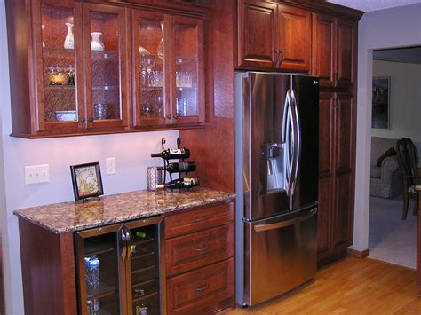 apple valley kitchen cabinets apple valley kitchen remodel featuring cherry cabinets 4165
