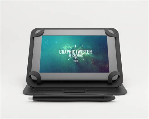 color tablet mockup