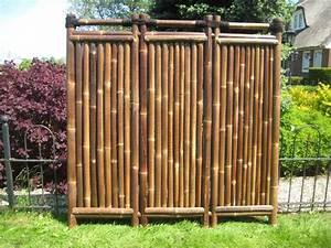 Sichtschutz 100 Cm Hoch : bambuszaun kajuku 180 cm hoch x 180 cm breit sichtschutz aus bambus bambuszaun ~ Bigdaddyawards.com Haus und Dekorationen