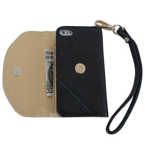 iphone 5 wristlet luxury genuine leather wristlet clutch wallet for