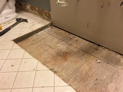 subfloor what is the 2 inch layer of masonry my