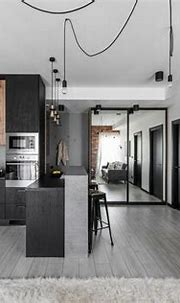 Industrial Modern Apartment in Vilnius, Lithuania