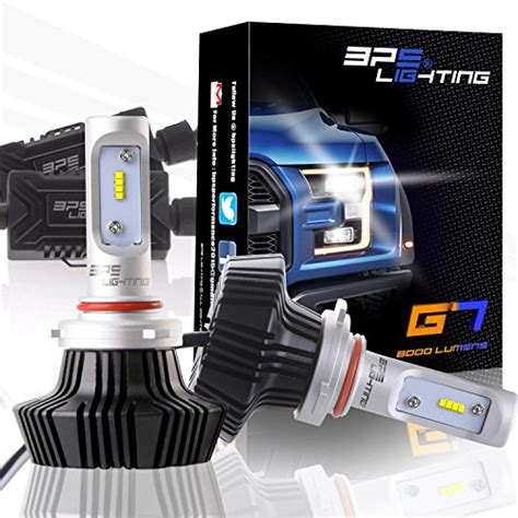 bps lighting g7 led headlight bulbs w clear arc beam kit