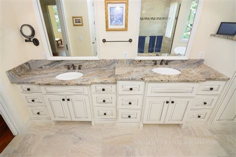 Marble Vs Granite Bathroom Countertops by Bathroom Countertops And Tubs For St Louis Homes Arch