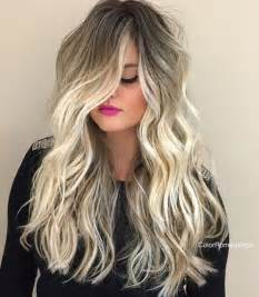 Root Hair with Blonde Shadow