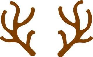 reindeer antler clip art clipart bay