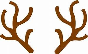 Rudolph Ears Clip Art at Clker.com - vector clip art ...