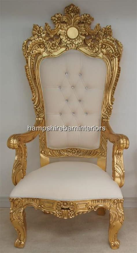 a emperor large ornate throne chair hshire barn