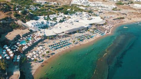 Paradise Beach Mykonos Summer 2018 Youtube