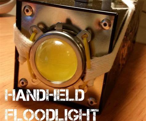 handheld floodspot light   lumens light project