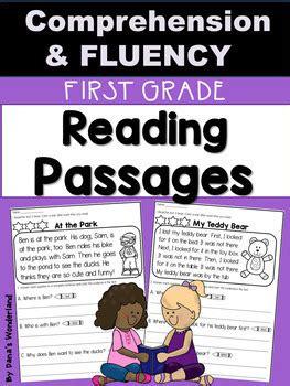 reading comprehension passages  questions bundle