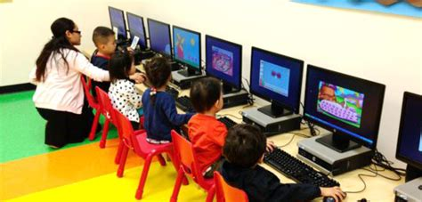 flushing preschool offers and mandarin lessons 296   computer room