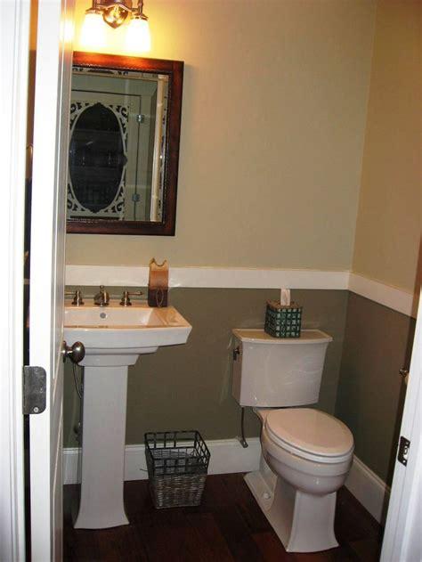 half bathroom paint ideas half bath with 2 tone paint for the home