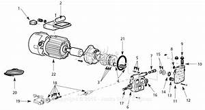 Campbell Hausfeld Pw167612av Parts Diagram For Pump Parts