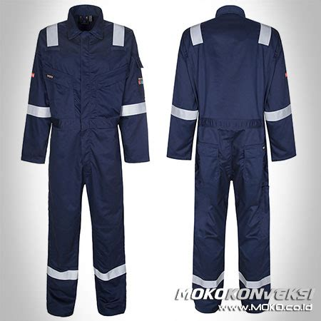 jual safety coverall baju proyek terusan moko konveksi