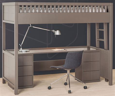 lit mezzanine bureau ado lit mezzanine quarré avec bureau rabattable bureau
