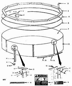 Muskin 48 U0026quot  Deep Round Pool Parts
