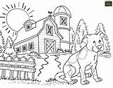 Coloring Agriculture Farm Printable Animal Adult Teaching Realistic Sheets Tools Books Coloringdoo sketch template