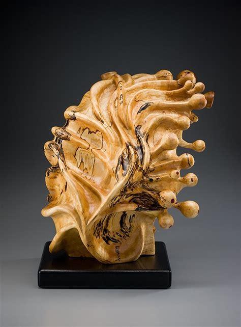 tim byrns revitalized wood sculptures american craft council
