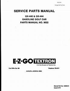 Parts Manuals  Gas