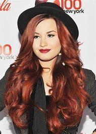 Demi Lovato Auburn Hair