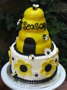 Honey Bee Birthday Cake