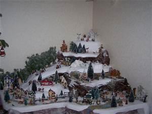 Maison De Noel Miniature : fabriquer deco village de noel visuel 3 ~ Nature-et-papiers.com Idées de Décoration