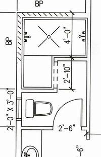 walk in shower dimensions 4-5'x7-8' dimensions range; Dimensions for doorless walk ...