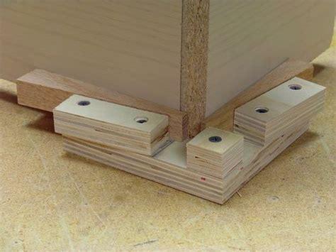 wood corner clamps  nickyp  lumberjockscom woodworking community workshop pinterest