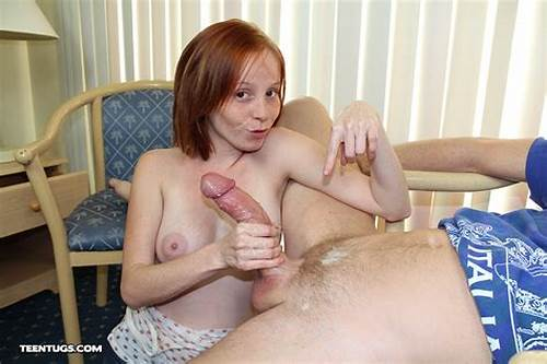 Teenage Ginger Is Strokes And This Penis